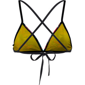arena Feel Triangle Bikini Top Dames, black-multi